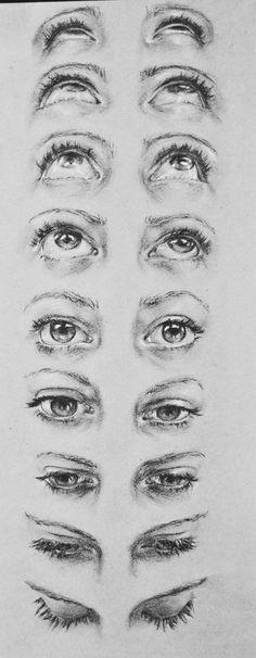 on RISD Portfolios eye face perspective looking up looking down - Highschool Misc. on RISD Portfolios eye face perspective looking up looking down - Drawing Eyes, Drawing Sketches, Pencil Drawings, Painting & Drawing, Art Drawings, Eye Sketch, Charcoal Drawings, Human Eye Drawing, Charcoal Drawing Tutorial