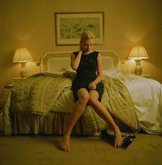 Scarlett Johansson starred as Jordan Two Delta in Island (2005)