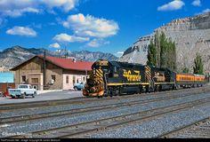 RailPictures.Net Photo: DRGW 3100 Denver & Rio Grande Western Railroad EMD GP40-2 at Helper, Utah by James Belmont