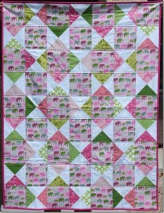 Fabulous quilt by Craftycupboard featuring Urban Circus by Laurie Wisbrun