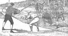 Encyclopedia of Baseball Catchers - Century Pitching/Catching Rules Casey At The Bat, Baseball Scoreboard, Catcher, 19th Century, Google Search, Art, Art Background, Kunst, Gcse Art