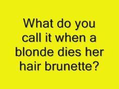 Super funny blondes jokes