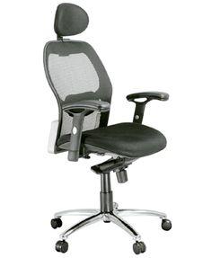 Giới thiệu mẫu ghế xoay lưng cong giá tốt cho dân văn phòng