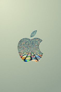 #apple #logo #screen apple peep hole into thousands of apps