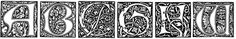 THE ART NOUVEAU MOVEMENT would never have been the same without William Morris - ornate, decorative lettering became part of Morris's manuscripts