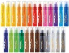 Montana Acrylic Marker Single 15mm 23Colors Paint Lack Graffiti Marquer Marcador(Gold Matt)