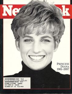 09 08 1997 - Time Cover of Princess 👸 Diana.