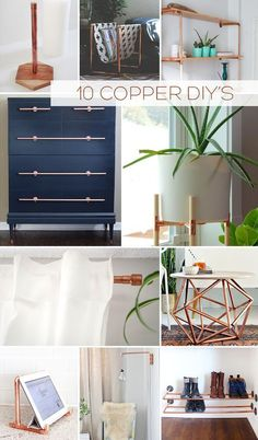 Top 10 Copper Pipe DIY's