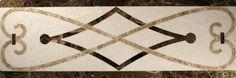Jet Stone Corporation  Border Series, Trim, Cream Marfil, Emperador Dark, Enoeradir Light, Polished, Brown, Stone