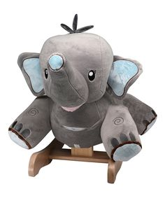 Take a look at this Stomp the Elephant Rocker today!