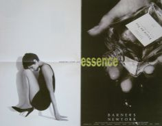 look what i found in my print archives! these barneys new york ads (circa came from w magazines.