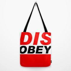 DISOBEY Bolsas porción dividus | Society6