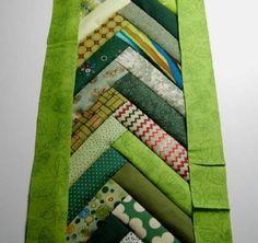lovely green braid block