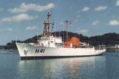O Navio Oceanográfico Almirante Câmara - H 41. (foto: Marinha do Brasil, via Comte. Carlos Roberto da Silva).