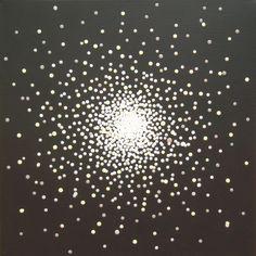 Nebula Barbara J Carter - Dot Art