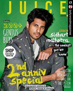Sidharth Malhotra cover for Juice Magazine