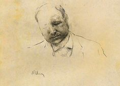 Sverre Malling kom ikke bare til at tvivle på sine egne evner som tegner, men også på sin menneskelighed.