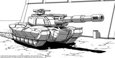 Here's another, the first original design I made for the Battletech Marik XTRO. Because everyone needs an amphibious, artillery, personnel carrier right?