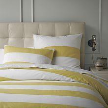 Yellow Striped Duvet
