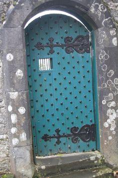 Tulloch Castle garden door
