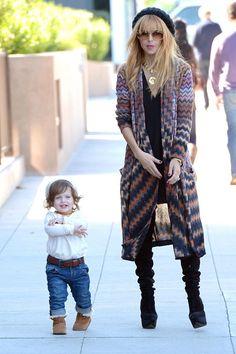 Rachel Zoe & Son Skyler Berman Go For A Walk In LA %u2014 Cute�Pic