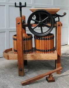 antique cider press parts - Google Search
