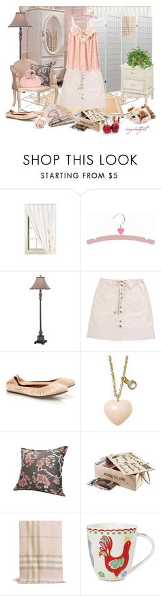 """""""My pink bedroom"""" by imgreatgal ❤ liked on Polyvore featuring Murphy, Vena Cava, Lanvin, Zara, Finn, Assouline Publishing, Burberry, Cath Kidston, CO and Apples"""