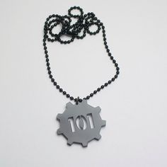 Fallout Vault 101 pendant necklace by BestGamersShop on Etsy, $8.00