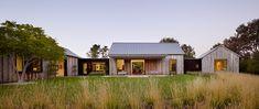 Walker-Warner Architects - PORTOLA VALLEY Arrangement of different buildings....
