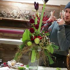 Flower Bouquet Diy, Floral Bouquets, Flower Art, Altar Flowers, Beautiful Bouquet Of Flowers, Deco Floral, Arte Floral, Christmas Floral Arrangements, Flower Arrangements