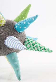 Blown away by these handmade, star shaped cloth teething toys.