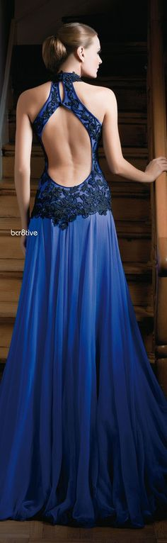 Bien Savvy Open Back Gown 2013 -- Temptation..luv the color