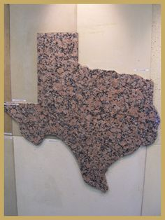 Texas Granite ~~  Texas Pink  Available near Marble Falls, TX. Same granite used to build State Capitol.