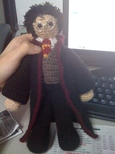 Harry Potter amigurumi.