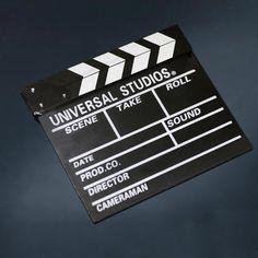 Claquete Cinema de Filme para Cineasta Profissional Universal Studios