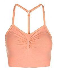 Sweaty Betty - Virasana Padded Yoga Bra - yellow/orange
