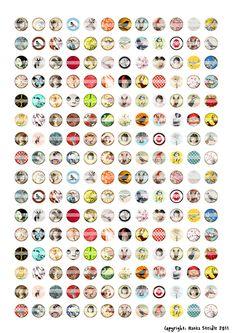128 besten Cabochon Vorlagen Bilder auf Pinterest | Painting