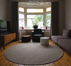 sisal carpet - round / circular