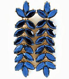 Blog-Trend Alert SHOUROUK Statement Earrings- SHOUROUK Inspired-Faceted Swarovski crystals shop>>http://www.ladiesfashionsense.com/blog_1/2013/10/Trend-Alert-SHOUROUK-Earrings