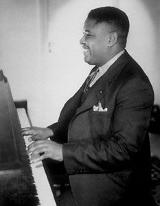Art Tatum was widely acknowledged as one of the greatest jazz pianists of all times. Tatum, a child prodigy, was leagally blind; he learned to play by ear.  He developed a unique playing style that utilized the entire keyboard.  His technique, harmony, and improvisational style extended the limits of what was possible in jazz piano.  He greatly influenced later jazz greats such as Bud Powell, Thelonious Monk, Oscar Peterson, an Bill Evans.