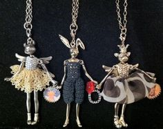 MISS CAVENDISH: Servane Gaxotte's Fairy Tale Necklaces