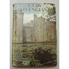 I SAW TWO ENGLANDS - H.V.MORTON, 6TH EDITION. for R60.00