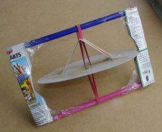 rubber band machines - lots of great rubber band ideas
