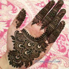 Latest Henna Mehndi Design Images For Hands - Kurti Blouse