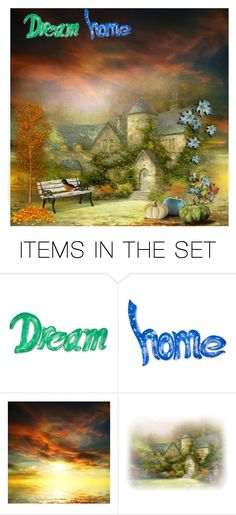 """Beautiful autumn day"" by subvilli on Polyvore featuring art, artset, polyvoreeditorial and autumn2017"