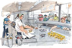 Dick's Drive-In celebrates 60 years | Seattle Sketcher | The Seattle Times