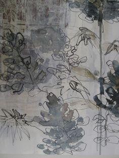Drawing - Mandy Pattullo Body of Work-explore media and techniques Grafik Art, Guache, Art Textile, A Level Art, Art Graphique, Drawing Techniques, Drawing Tips, Mark Making, Art Sketchbook
