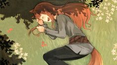 spice and wolf animal ears holo the wise wolf 1920x1080 wallpaper Art HD Wallpaper