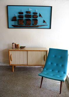 Special Sale 50% Off Vintage 1960s Tiki Rattan Cabinet Credenza
