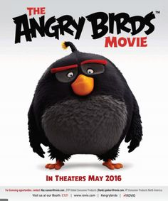 Angry Birds Movie Poster : The film will hit theaters on May 20, 2016